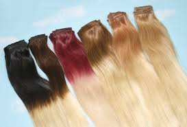 ombre hair extensions clip in handmade bleached tips ombre hair extensions human hair
