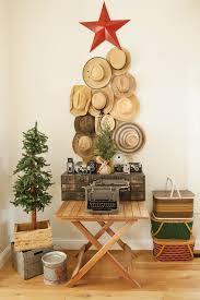 baroque tabletop christmas tree in family room shabby chic with