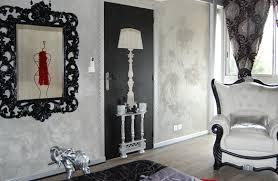 chambre baroque noir et une décoration baroque pour une chambre aux allures de boudoir i