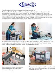 Graco Pack N Play Bassinet Changing Table by Graco Singapore Lowest Price In Singapore First Few Years