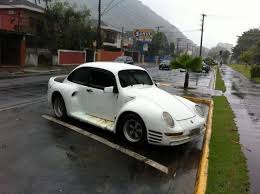 porsche beetle conversion poor man u0027s porsche 959 tries to cover its vw bug roots