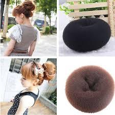 cool hair donut stylish women donut shaper bun maker sponge ring helpful cool hair