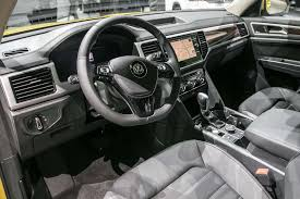 volkswagen syncro interior 2018 volkswagen atlas first look cuv debuts with u0027massive