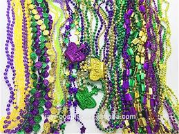 mardi gras throws wholesale wholesale fashion necklace metallic color mardi gras throw
