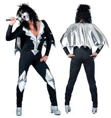 Kiss Halloween Costume Buy Theme Music Costumes Fancydress365 Fancy Dress 365