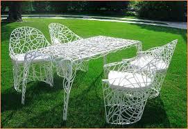 vintage metal outdoor furniture vintage white metal garden furniture