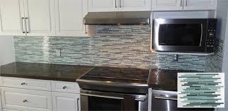 stick on backsplash for kitchen minimalist kitchen ideas with blue mint rocky point stick tile