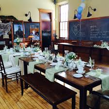 Fairview Dining Room by The Schoolhouse The Schoolhouse