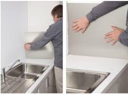 plaque d aluminium pour cuisine poser une cr dence alu c est facile et pas cher credence de cuisine