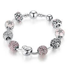 pandora style bead bracelet images Sterling silver bracelets designer style beaded bracelets surewaydm jpg