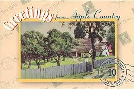 greetings from apple country 10 fashioned postcards