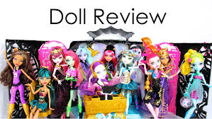 doll collection review monster music festival 13 wishes