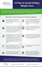 infographic 10 tips to avoid weight gain