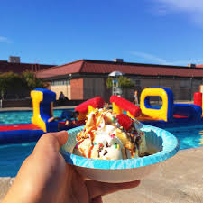 ice cream family splash at rutter swim center presented by