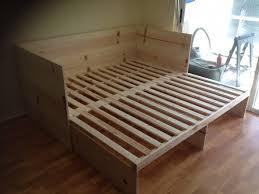 bedroom comfortable sleeping solution with intex queen sleeper