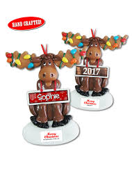 moose ornaments danbar