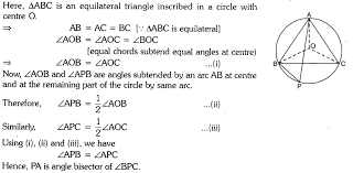 Interior Angles In A Circle Important Questions For Cbse Class 9 Mathematics Circles Learn Cbse