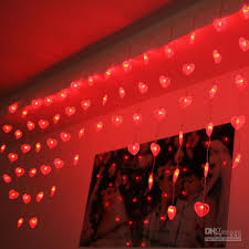 heart shaped christmas lights led string light heart shaped curtain string light christmas tree