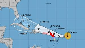 Jacksonville Florida Map Hurricane Irma Now A Category 4 Storm Florida Gov Scott Declares