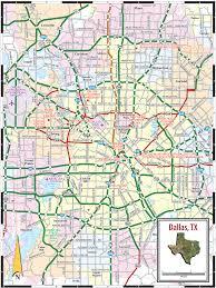 Dallas Neighborhoods Map map of dallas texas world map