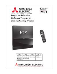 mitsubishi diamond tv pdf mitsubishi ws 65813 manual 28 pages mitsubishi ws tv home