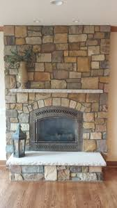 32 best interior stone design ideas fireplaces basements etc gold rush natural thin veneer from general shale rock with limestone mantel hearth 864
