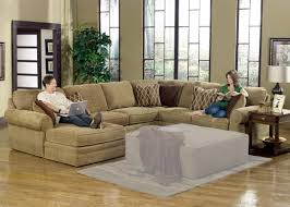 Leather Sectional Sofa Chaise by Furniture Comfortable Deep Seat Sectional For Your Living Room