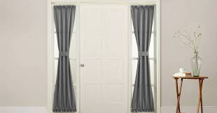 Curtains For Front Doors Decor Front Door Curtains Wonderful Sidelight Curtains Front