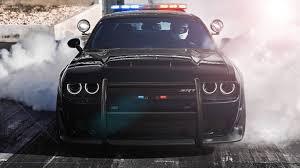 Dodge Challenger Lights - dodge challenger srt demon police concept is a cop u0027s dream car