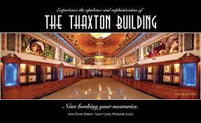 art deco venue the thaxton building deco weddings