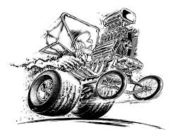 rat fink coloring pages eson me