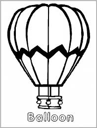air balloon coloring pages pixelpictart com