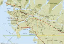 Victoria Bc Map Map Of Vancouver British Columbia Map