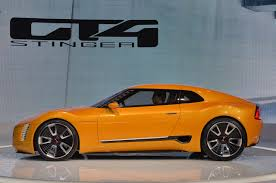 kia supercar kia gt4 stinger concept introduced in detroit cars co za