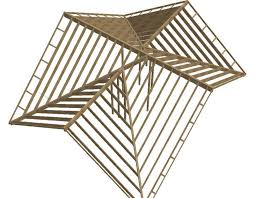 a frame roof hybrid roof frame design trusses and sticks framing contractor talk