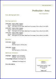 chronological resume templates cv templates chronological 1 resume templates