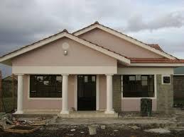 a modernized three bedroomed kenyan house plan modern ideas