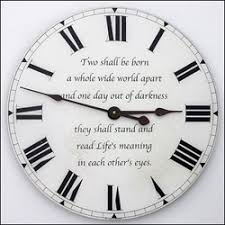 wedding clocks gifts new concept for wedding anniversary gifts from weddingclocks