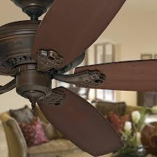 downrod mount ceiling fan shop prestige by hunter headley 64 in cocoa downrod mount ceiling