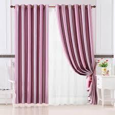 Light Purple Curtains Beautiful Curtains Floral Jacquard Light Purple Polyester No Valance