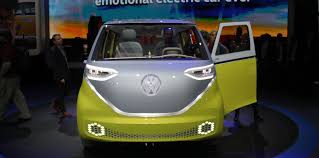 volkswagen i d buzz concept revealed photos 1 of 45