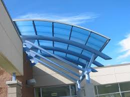 Industrial Awnings Canopies Commercial Canopies Skyshade 3100 Extech Inc