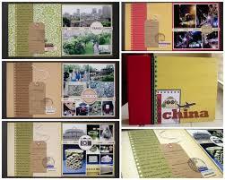 travel photo albums write click scrapbook mini albums