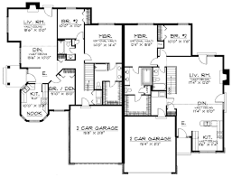 5 Bedroom House Plan by Beautiful 5 Bedroom House Plans For Hall Kitchen Bedroom