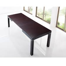 Table Bois Rallonges Integrees by Table Repas Extensible Newport Marron 2 70 M Avec Allonges