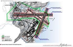 Kodiak Alaska Map by Kodiak Airport Expansion Ak Usa