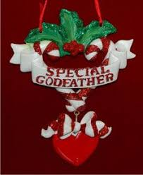 Goddaughter Ornament I Heart My Goddaughter Personalized Family Christmas Ornament
