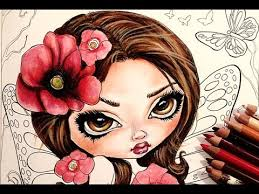 coloring book jasmine becket griffith color book wip