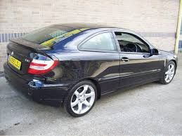 mercedes c class for sale uk used 2005 mercedes coupe class c220 cdi sport diesel for sale
