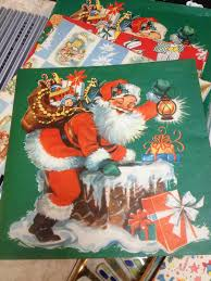vintage christmas wrapping paper c dianne zweig kitsch n stuff buying collectible vintage